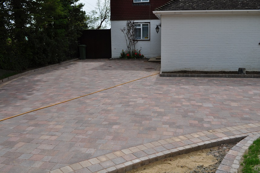 Marshalls approved installer driveway